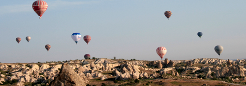 baloane kapadokya