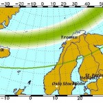 aurora boreala in scandinavia