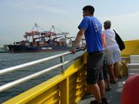 La bordul vaporului