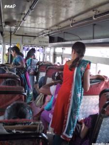 autobuz in Goa