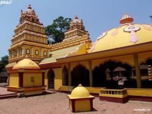 templu hindus langa Arambol