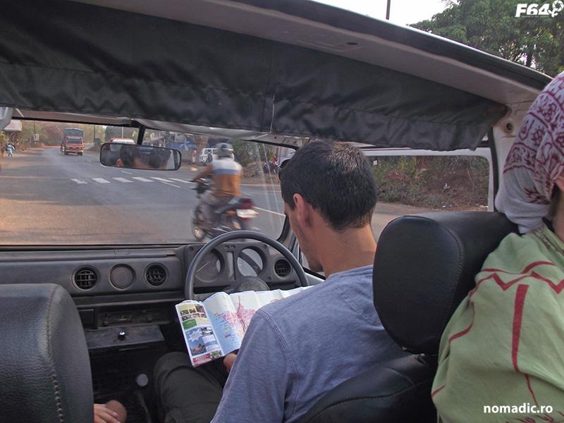 cu masina in India
