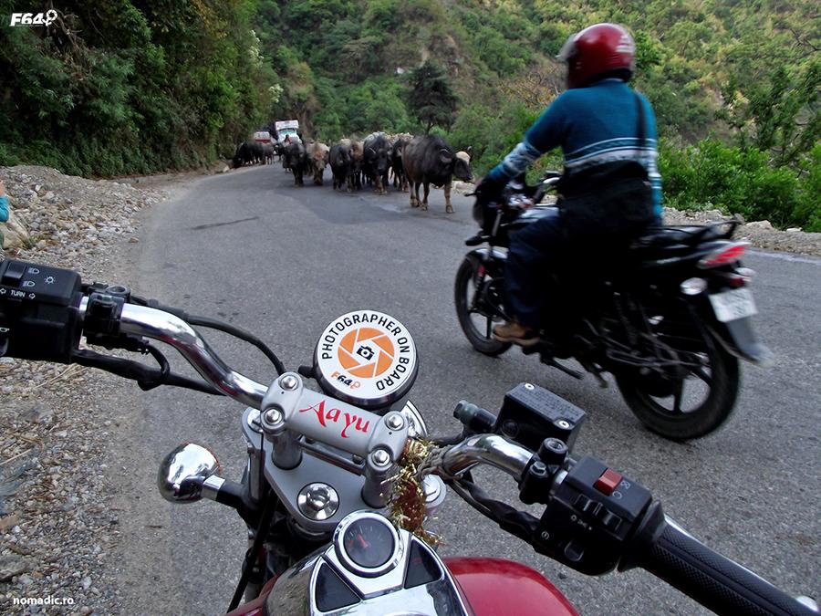 cu motocicleta in India